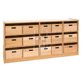 Skříňka s 15 volnými zásuvkami