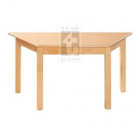 Trapézový stůl 120 x 60 cm