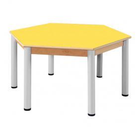 Stůl šestistranný U R120