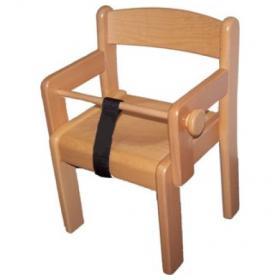 Židle s područkou TIM / P - Z+P - přírodní provedení