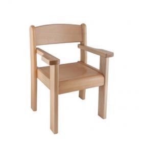 Židle s područkou TIM A/P II - celomořené provedení