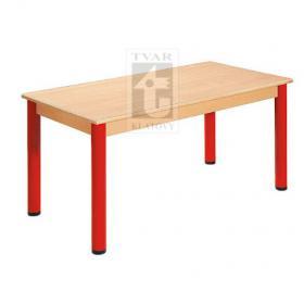 Stůl 180 x 80 cm / kovové nohy s rektifikační patkou
