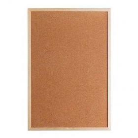 Korková nástěnka s dřevěným rámem 120x90