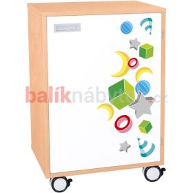 Skříňka jednodveřová