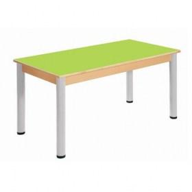 Stůl 120 x 60 cm / výškově stavitelné nohy 36 - 70 cm