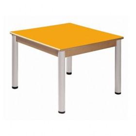 Stůl 80 x 80 cm / výškově stavitelné nohy 36 - 70 cm